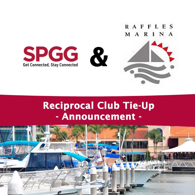 Raffles Marina Is Now Our Reciprocal Club