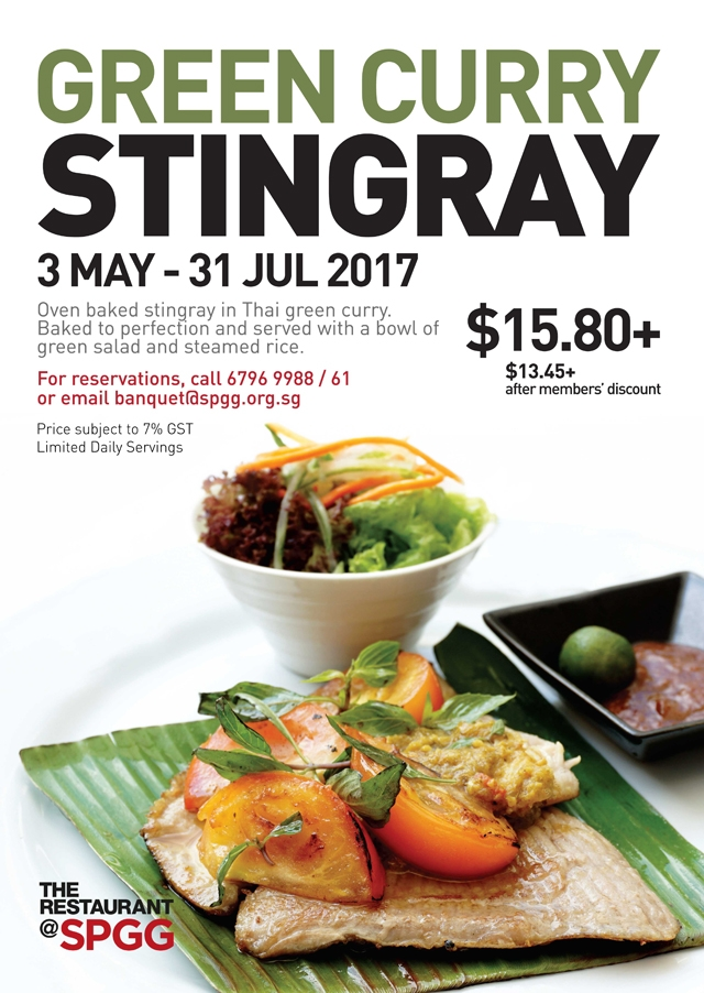 Green Stingray Curry Promotion