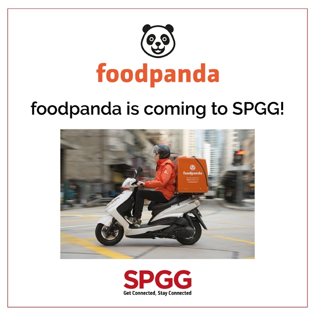 Foodpanda is coming to SPGG!