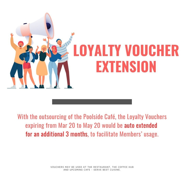 Loyalty Voucher Extension of Expiry