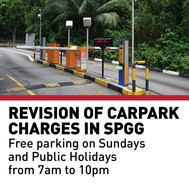 Revision of Carpark Charges in SPGG